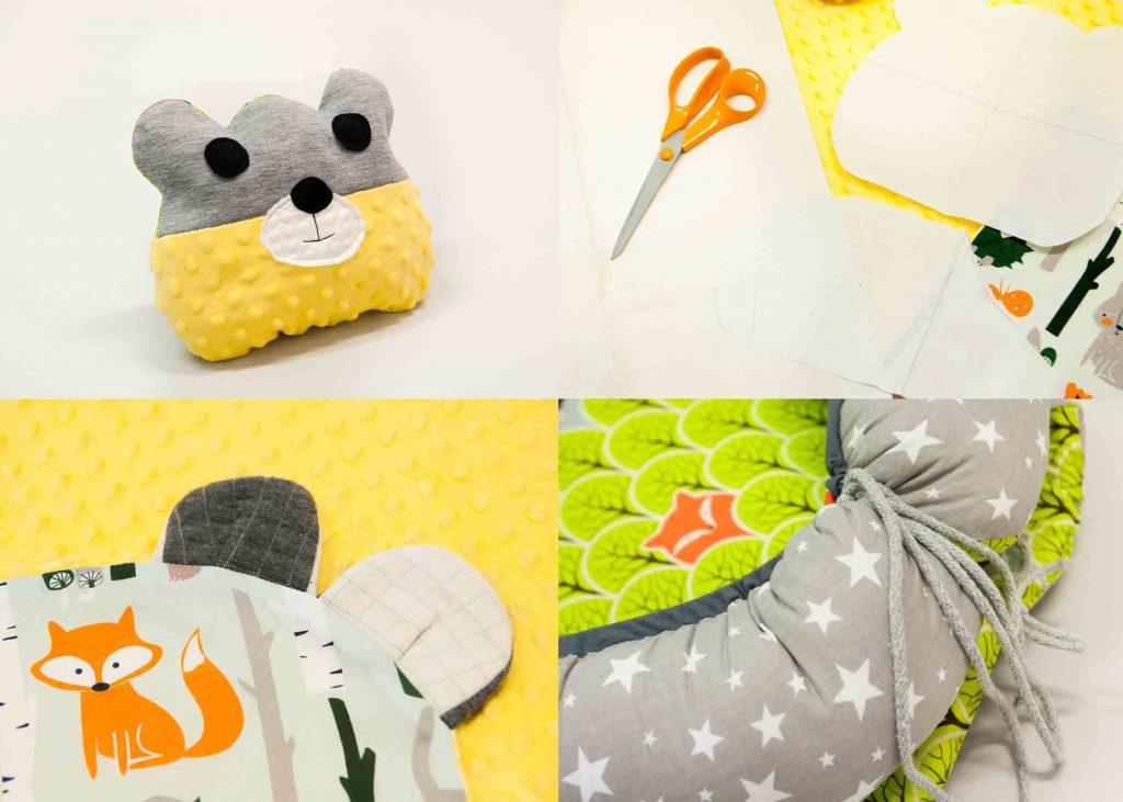 Na kursie szycia akcesoriów i ubranek dziecięcych nauczysz się jak stworzyć niepowtarzalne rzeczy dla swoich maluchów
